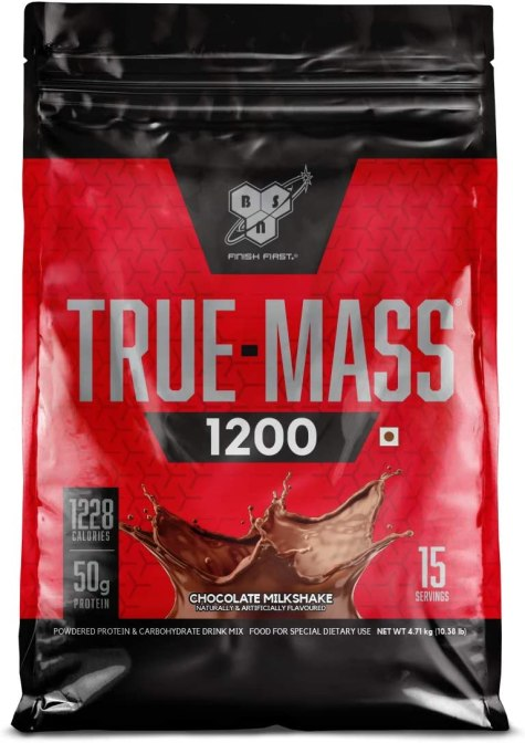 BSN 1200 True Mass – 4708 g (Chocolate Milkshake)