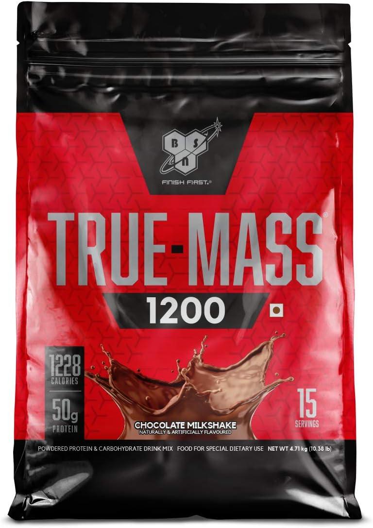 BSN 1200 True Mass – 4708 g (Chocolate Milkshake)