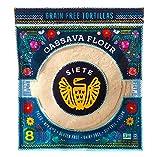 Siete, Coconut Cassava Tortillas, 8-count, 7 oz (frozen)
