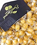 Washburn Wrapped Ginger Balls | Natural Ginger Candy | Retro Hard Candies | 1 pound