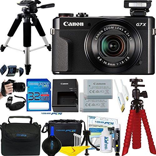 Canon PowerShot G7 X Mark II 20.1MP 4.2x Optical Zoom Digital Camera + Accessories Bundle – International Version