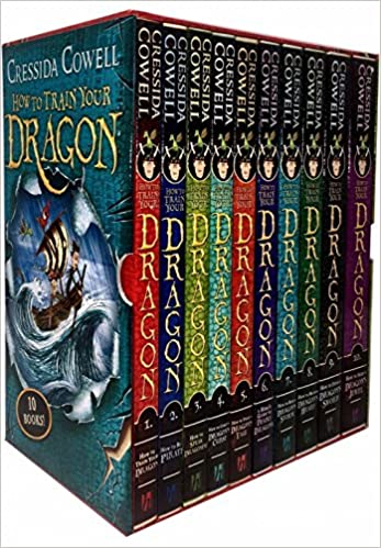 How To Train Your Dragon - 10 Books (Box Set)