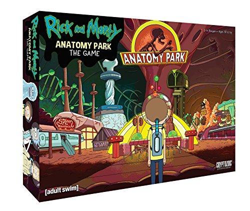 Cryptozoic Entertainment Rick y Morty Anatomía Park Juego