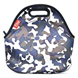 Kids Lunch Bags, Yookeehome Insulated Thermal Reusable Lunch Bag Box for Boys Men Kids with Zipper, Camouflage