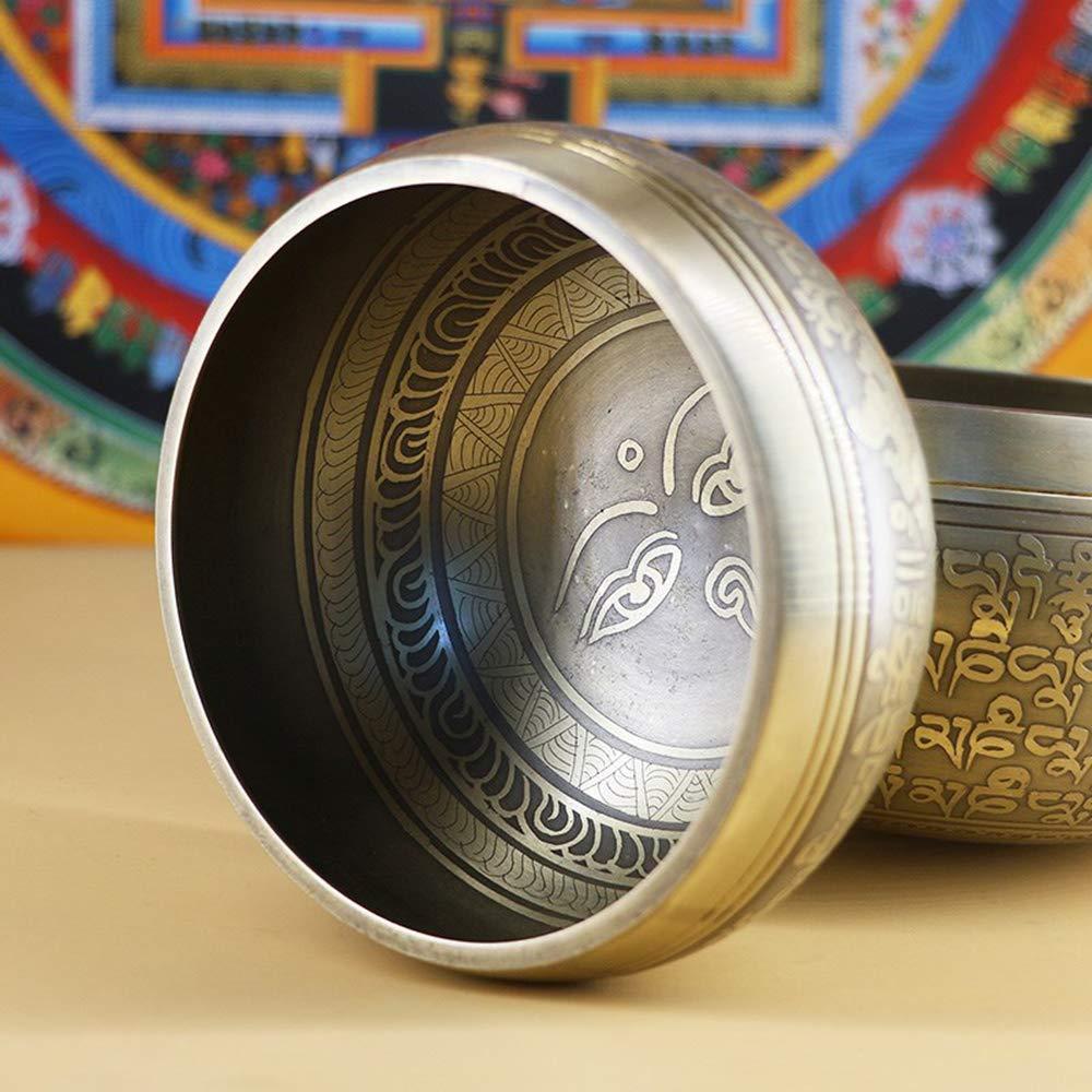 Antique-Design-Tibetan-Singing-Bowl-Set