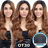 FreeTress Equal Freedom Part Lace Front Wig - 202 (26') (1B Off Black)