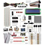 SunFounder Project Super Starter Kit for Raspberry Pi w/ GPIO Extension Board (for RPi Model B) - Including 73 Page Instructions Book