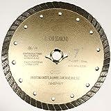 ALSKAR DIAMOND ADLSC 7 inch Dry or Wet Cutting General Purpose Continuous Turbo Power Saw Diamond Blades for Concrete Masonry Brick Stone (7')