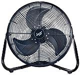 Comfort Zone Industrial Portable Floor & Office Fan | 18 Inch, 3 Speed, High Velocity Fan