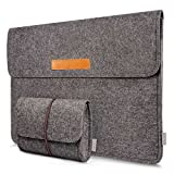 Inateck 13-13.3 Inch Laptop Sleeve Case Bag Compatible MacBook Air/MacBook Pro Retina 2012-2015/12.9' iPad Pro, Dark Gray