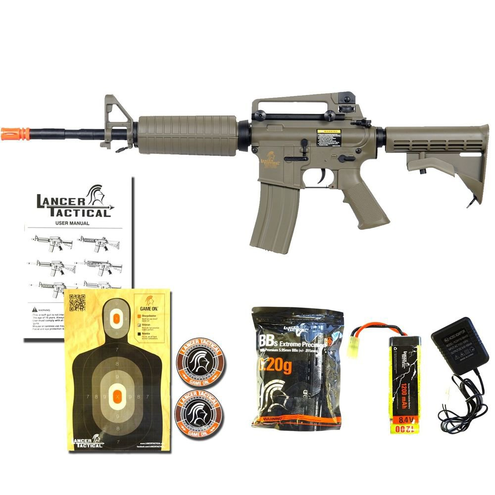 Lancer Tactical LT-06T M4A1 Airsoft Electric Gun