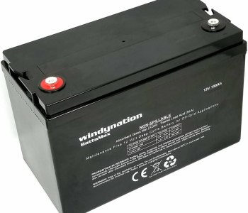 WindyNation 100AH 12V AGM Deep Cycle Battery