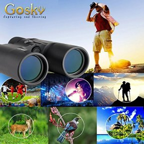 Gosky-10x42-Roof-Prism-Binoculars-for-Adults-HD-Professional-Binoculars-for-Bird-Watching-Travel-Stargazing-Hunting-Concerts-Sports-BAK4-Prism-FMC-Lens-with-Phone-Mount-Strap-Carrying-Bag