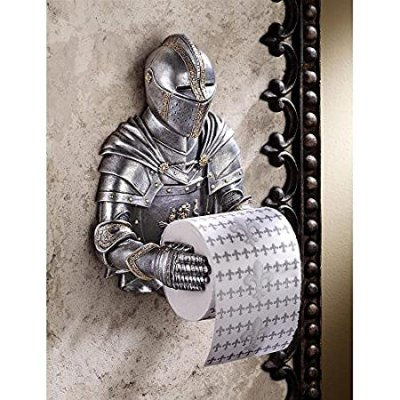 Medieval Knight Fancy Toilet Tissue Holder