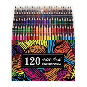 160 Colored Pencils – Vibrant Colors Pre-Sharpened Colored Pencils Set for Adult Coloring Books ¡­