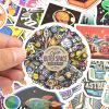 Waterproof Trendy VSCO Stickers Bomb Water Bottle Folders for Teen Girls (100Pcs/Pack) 11474
