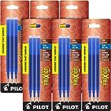 Pilot Gel Ink Refills for FriXion Erasable Gel Ink Pen, Fine Point, Blue Ink, 6 Packs total of 18 refills (77331)