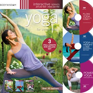Yoga for Weight Loss (Deluxe 3 DVD set with over 35 routines) 47