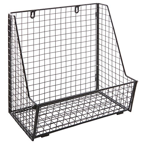 Modern Metal Wire Wall Mounted Hanging Basket
