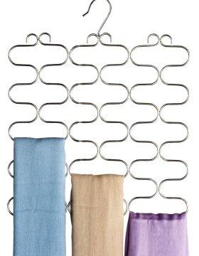 DecoBros Supreme 23 Loop Scarf / Belt / Tie Organizer Hanger Holder