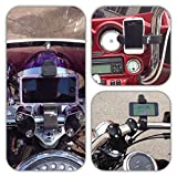Cell Buckle - Motorcycle Phone Mount, iPhone Bike Mount, Phone Holder, Samsung Mount and HandleBar Mount
