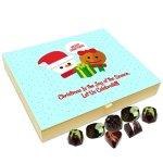 Chocholik Christmas Gift Box – Let Us Celebrate Christmas The Joy of The Season Chocolate Box – 20pc