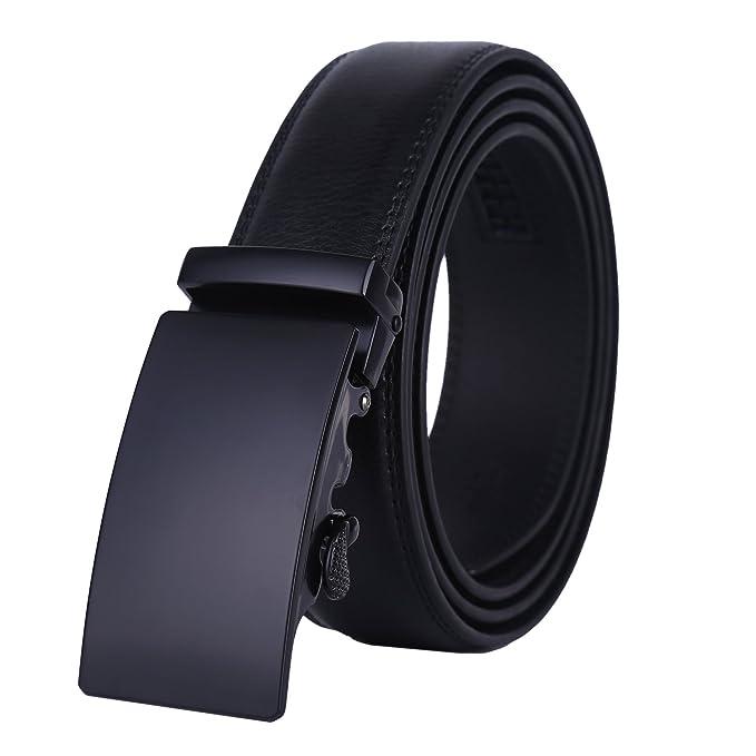 Cinturon negro elegante para hombrehttps://amzn.to/2SAUEev