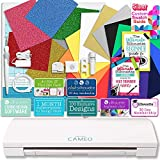 Silhouette Cameo 3 Bluetooth Heat Transfer T-Shirt Vinyl Bundle with Siser Vinyl, Swatch Book, Guides, Class, Membership