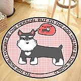 Weiliru Pet Carpet Stylish and Beautiful Pet Dog Pet Cat Cartoon Pad Non-Slip Care of Your Cute Pet