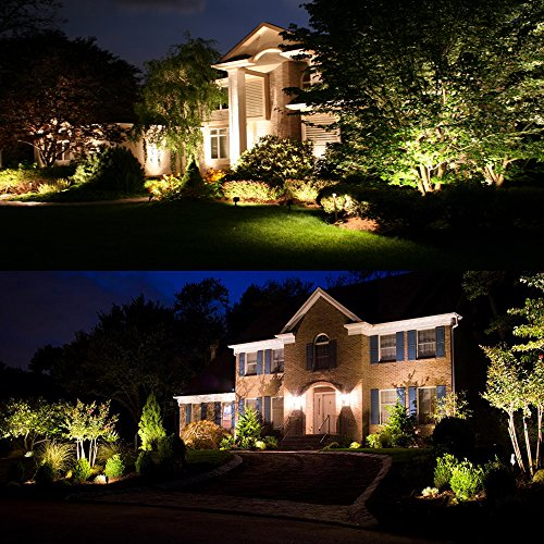 ZUCKEO-5W-LED-Landscape-Lights-12V-24V-Waterproof-Garden-Path-Lights-Warm-White-Walls-Trees-Flags-Outdoor-Spotlights-with-Spike-Stand-8-Pack