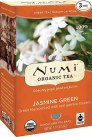 Numi Organic Tea Jasmine Green, (Pack of 3 Boxes) 18 Bags Per Box (Packaging May Vary), Classic Green Tea Scented with Real Organic Jasmine Blossoms in Non-GMO Biodegradable Tea Bags