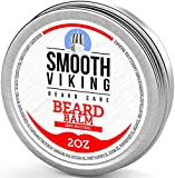 Beard Balm with Leave-in Conditioner- Styles, Strengthens & Thickens for Healthier Beard Growth,...