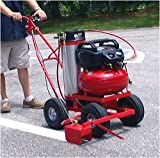 Parking Lot Striper Model 250EC Trueline Striper with 5 Gallon Paint Tank/with Electric Compressor Pack