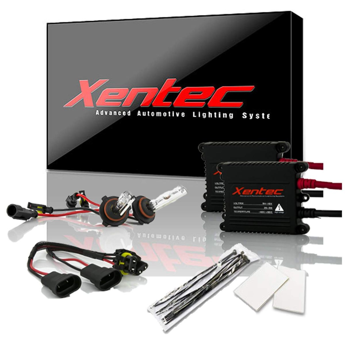 Best HID Headlight Kits Xentec 9005 6000K HID xenon bulb