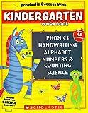 Scholastic - Kindergarten Workbook with Motivational Stickers