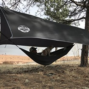 The-Outdoors-Way-Hammock-Tarp-12-Foot-Rain-Fly-for-Extreme-Waterproof-Protection-Large-Canopy-is-Portable-and-Provides-Ideal-Shelter-for-Your-Camping-Hammock-Or-Tent