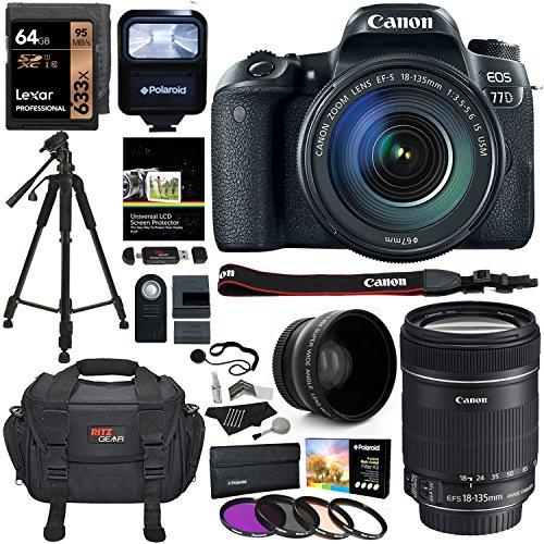 Canon EOS 77D Bundle 7