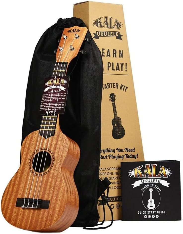 Amazon.com: Official Kala Learn to Play Ukulele Soprano Starter ...