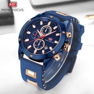 Men's Watches, MINI FOCUS Waterproof Sports Watches