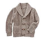 Product review for OshKosh B'Gosh Boys' 2T-8 Shawl Collar Cardigan