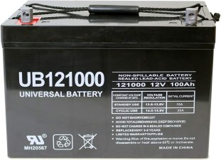 best deep cycle AGM battery - Universal Power Group