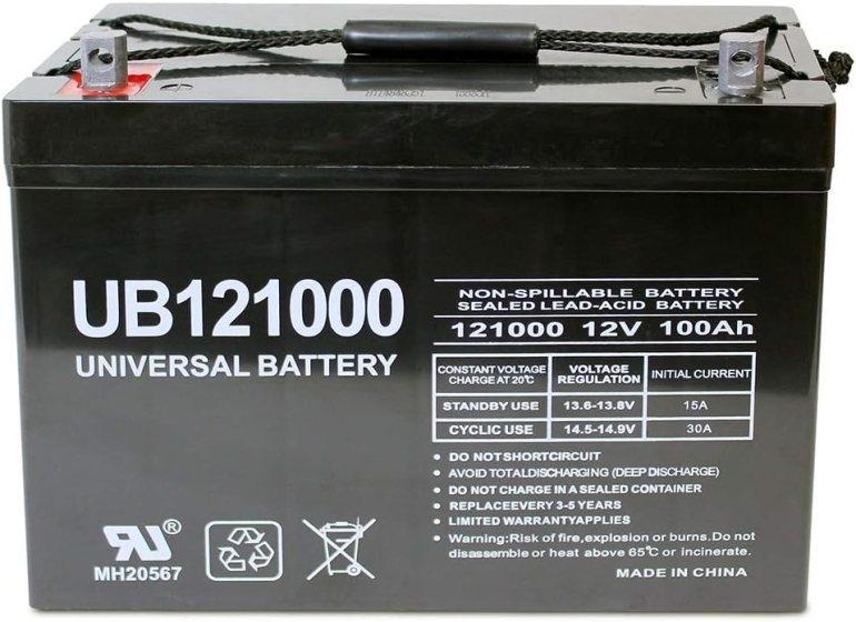 Universal Power Group 12V 100Ah Deep Cycle Battery