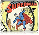 Buckle-Down Men's Wallet Classic Superman #1 Flying Cover Pose Accessory, -Multi, One Size