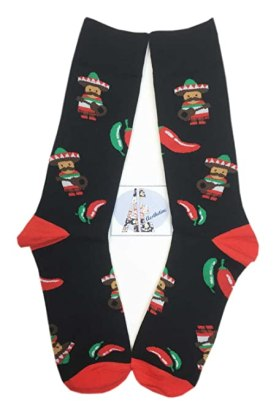 Funny Christmas socks like these are the perfect way to get into the holiday spirit!