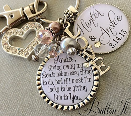 Daughter In Law Wedding Daughter Wedding Gift Bridal Bouquet Charm