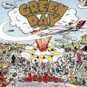 Bilderesultat for Green Day - dookie