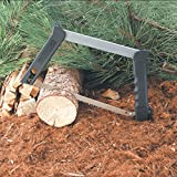 Outdoor Edge Collapsible Pack Saw, Three 12' Blades for Wood, Metal, and Bone, Use for Hunting, Camping, Backpacking, Nylon Storage Pouch (PS-100)