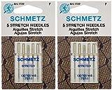 Stretch Machine Needles-Size 11/75 5/Pkg