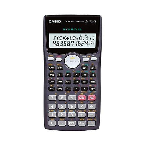 Casio Fx 100ms Non Programmable Scientific Calculator 300 Functions