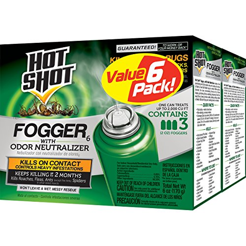 Hot Shot Fogger6 With Odor Neutralizer, 3/2-Ounce,...